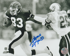 Andre Reed autograph 8x10, Buffalo Bills