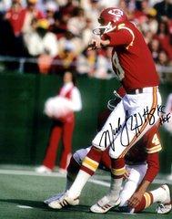 Nick Lowery 8x10, Kansas City Chiefs, KF HOF