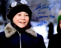 Scott Schwartz autograph 8x10, Christmas Story, 2 inscriptions