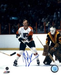 Bob Kelly autograph 8x10, Philadelphia Flyers, w/ inscription