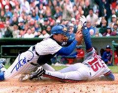 Todd Pratt, autographed 8x10, Chicago Cubs