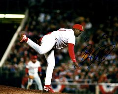 Ben Rivera autographed 8x10, Philadelphia Phillies, 93 NL Champs