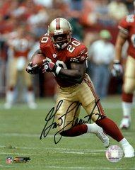 Garrison Hearst autograph 8x10, San Francisco 49ers