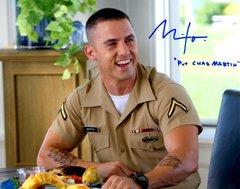 Milo Ventimiliglia, autographed 8x10, That's My Boy, PVT Chad Martin inscription