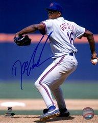 Dwight Gooden autograph 8x10, New York Mets