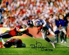 D. J. Dozier autograph 8x10, Minnesota Vikings
