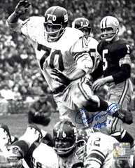 Paul Hornung autograph 8x10, Green Bay Packers, HOF 81