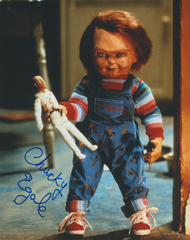 Ed Gale autograph 8x10 movie Child's Play with Chucky inscription