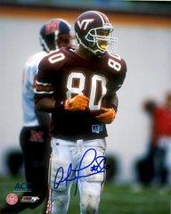 Antonio Freeman autograph 8x10, Virginia Tech