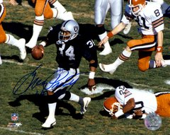 Greg Pruitt autograph 8x10, Oakland Raiders