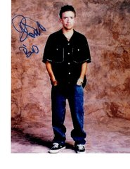 David Faustino autograph 8x10, Married with Children Star, Bud