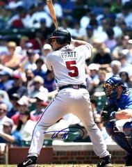 Todd Pratt, autographed 8x10, Atlanta Braves