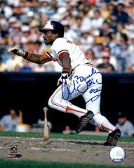 Al Bumbry autograph 8x10, Baltimore Orioles