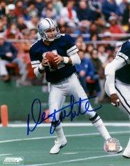 Danny White autograph 8x10, Dallas Cowboys