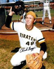 Chuck Goggin autograph 8x10, Pittsburgh Pirates