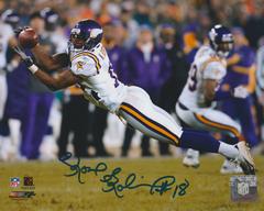 Koren Robinson autograph 8x10, Minnesota Vikings