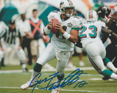 Gus Frerotte autograph 8x10, Miami Dolphins