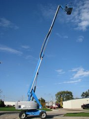 2005 GENIE S65 Telescopic Boom Lift
