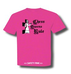 Chess Queens Rule - White Queen