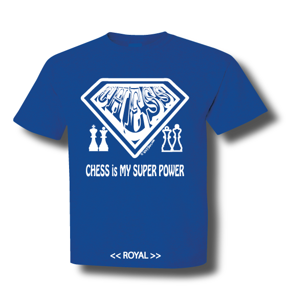 Safety Yellow Shirts >> Chess is My Super Power | Wit-T-Shirt, Chess Matters, witty t shirts, Witty Shirts