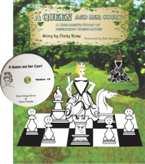 A Queen & HerCourt - Book & CD