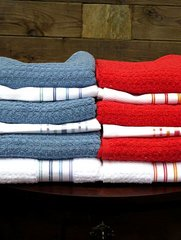 Embroidered Linens: Towels, Dish