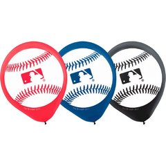 Rawlings Major League Baseball Printed Latex Balloons