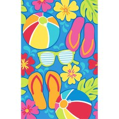 Summer Splash Plastic Table Cover