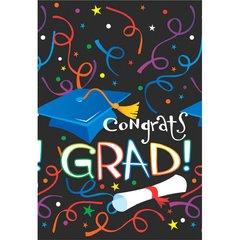 Grad Celebration Plastic Tablecovers