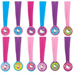 Hello Kitty® Packaged Mini Award Medals