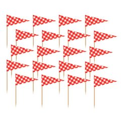 Picnic Party Flag Picks