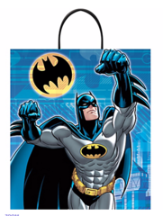 Batman™ Deluxe Plastic Treat or Loot Bag