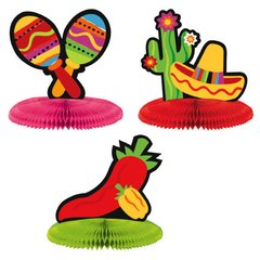 Fiesta Mini Honeycomb Centerpiece Assortment