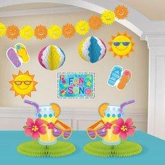 Fun in the Sun Decoration Kit 10pc
