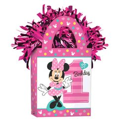 ©Disney Minnie's Fun To Be One Mini Tote Balloon Weight