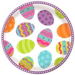 Easter Round Serving Platter