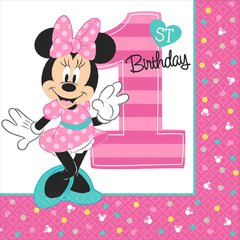 ©Disney Minnie's Fun To Be One Luncheon Napkins