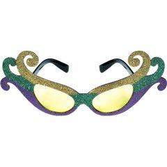 Fleur de Lis Fun Mardi Gras Glasses