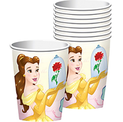 ©Disney Beauty And The Beast Cups, 9 oz.