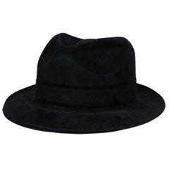 Black Felt Hollywood Gangster Hat