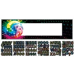 Disco 70's Personalize It! Giant Sign Banner