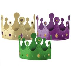 Mardi Gras Crowns 12ct