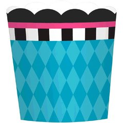 Mad Tea Party Large Paper Scalloped Cups