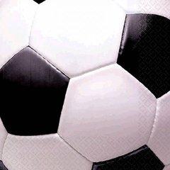 Soccer Fan Beverage Napkins 16ct