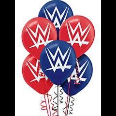 WWE®Party Printed Latex Balloons