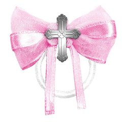Communion Fabric Favor Ties - Pink