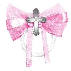 Communion Fabric Favor Ties - Pink