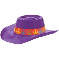 60's Cowboy Hat - Purple