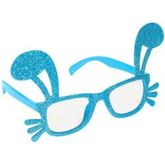 Easter Shaped Glasses w/Glitter