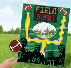Football Disc Toss Game